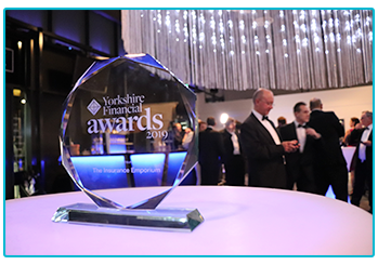 Our award at the Yorkshire Financial Awards 2019