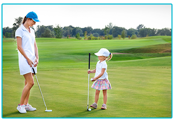 how to get your family into golf