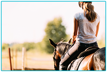 How to choose the right horse - woman riding horse