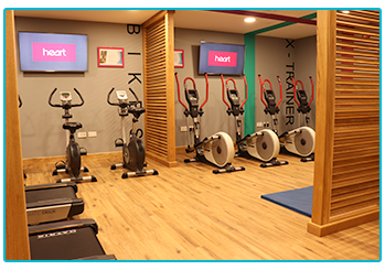 Take a look at our new facilities - the new gym