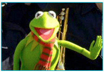 Our favourite Christmas movie adventures - Kermit the Frog