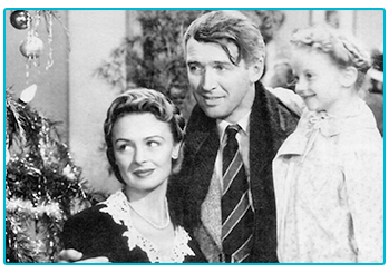 Our favourite Christmas movie adventures - It's a Wonderful Life