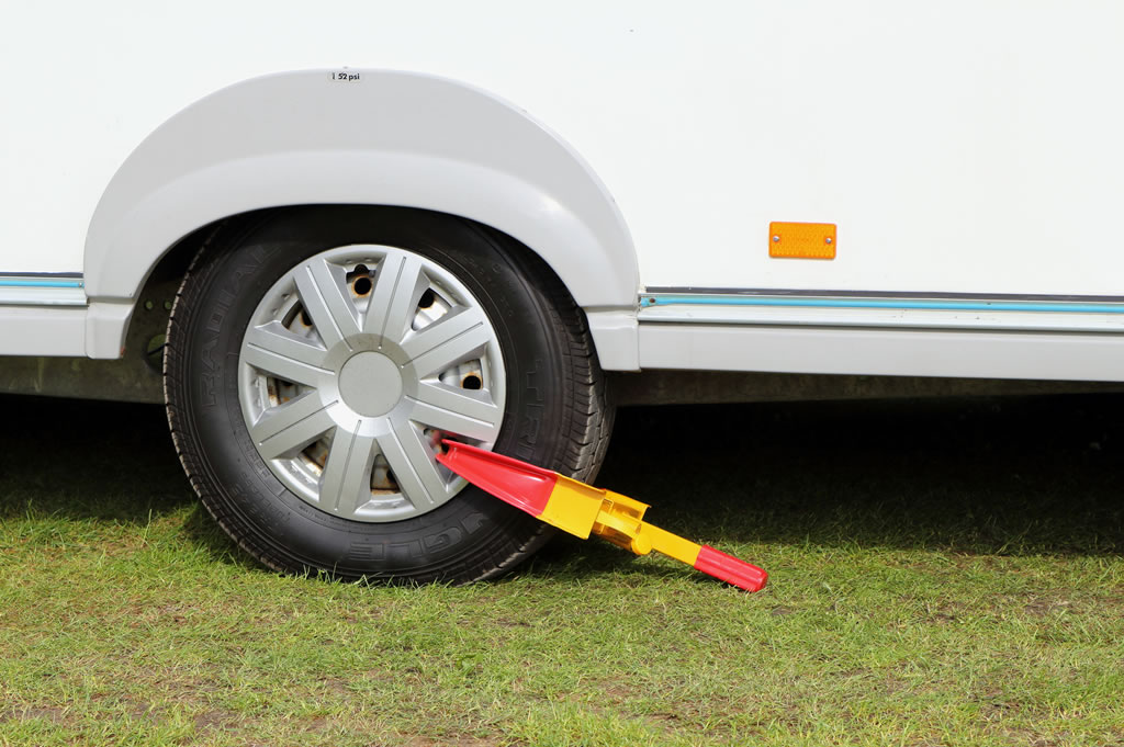 Insuring Touring Caravan While Out Of Use Wheel Clamp